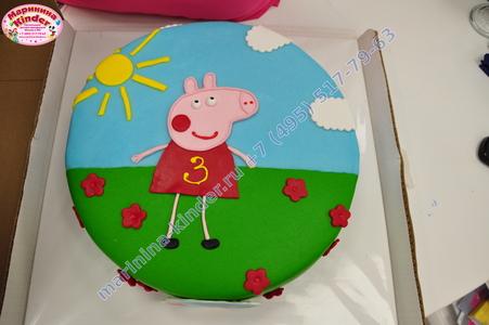 розовая свинка