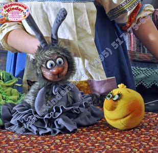 Кукольный спектакль Колобок
