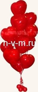 Украшение оформление воздушными шарами, букет из воздушных шаров