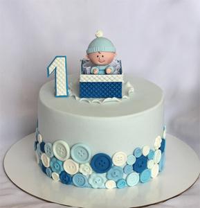 торт для мальчика на годик