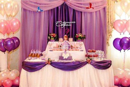 сладкий стол принцесса софия