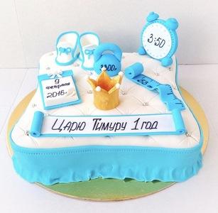 детский торт на годовасия
