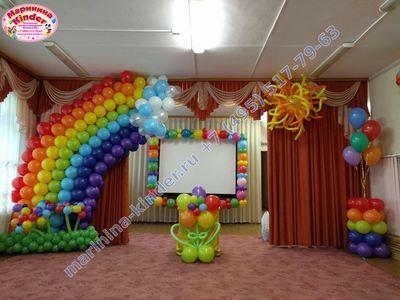 оформление выпускного в детском саду
