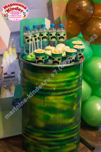 сладкий стол майнкрафт