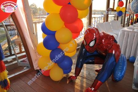 шар человек паук