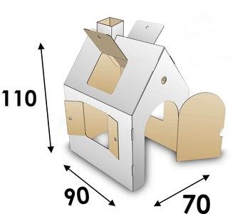 размеры домика для мастер класса
