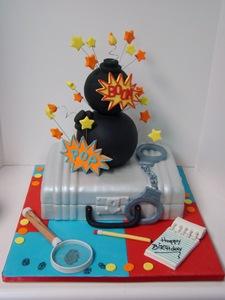торт в стиле шпионы