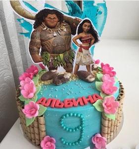 торт с моаной