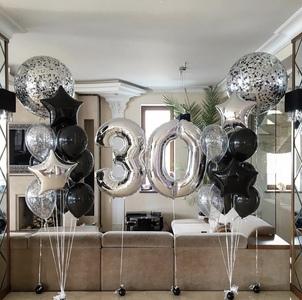 цифра тридцать с шаром гигантом