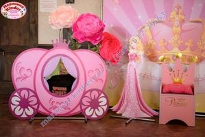 день рождения с принцессами