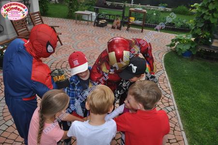 день рождения супергерои
