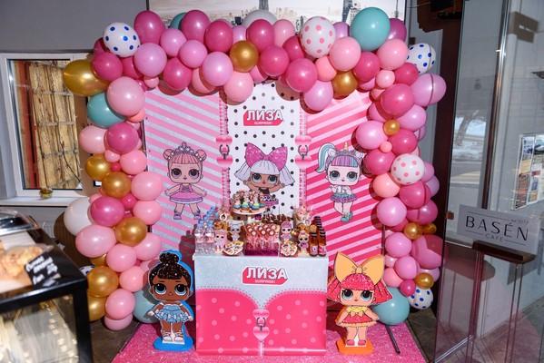 баннер на сладкий стол