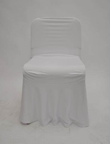 Чехол белый на стул