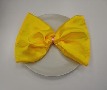 Салфетка желтого цвета