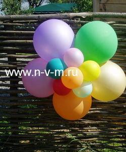 Шар с гелием,шар надутый гелием,шар фольгированный,цифра из шаров