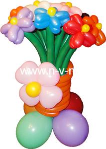 букет из шаров,цветы из шаров,шар с гелием,шар в форме крош,шар надутый гелием,шар фольгированный,ци