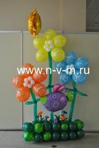 Композиция из шаров на любой детский праздник,мДоставка шаров Лобня, Долгопрудный, Москва, Дмитровск
