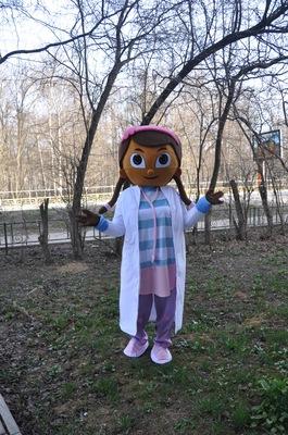доктор плюшева на детский праздник
