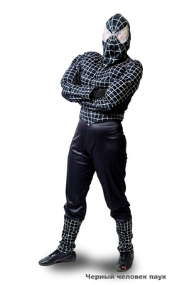 черный человек паук