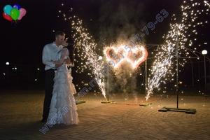 Феейрверк/салют на свадьбу