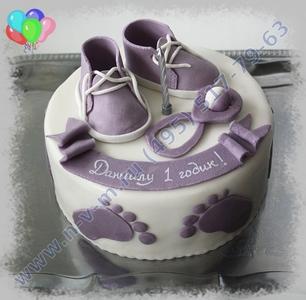 детский торт на день рождения на 1 годик