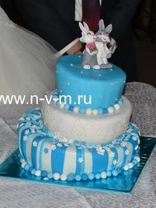 торт свадебнй