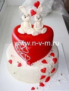 свадебный торт с доставкой