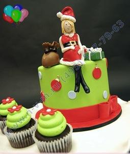 торт на новый год лобня
