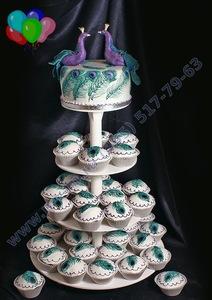 свадебные капкейки на свадьбу