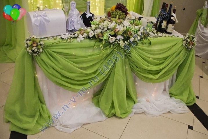 Зелёная свадьба оформление