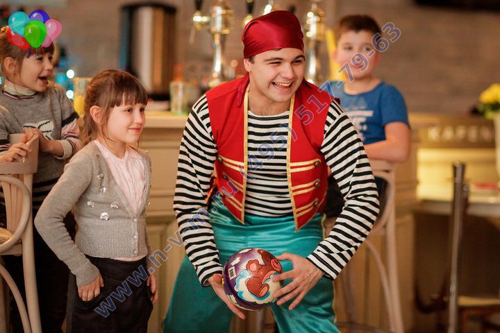 пират на праздник