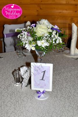 карточки на столы гостей