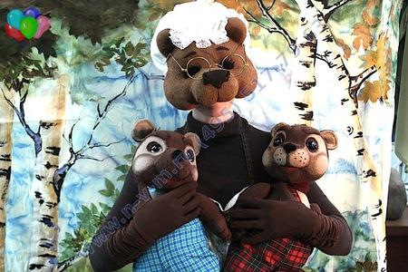 кукольный спектакль Два непослушных м6едвежонка