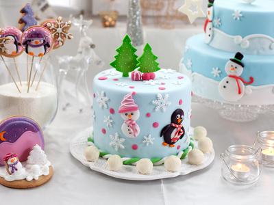 торт на новый год с доставкой