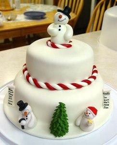 новогодний торт на праздник