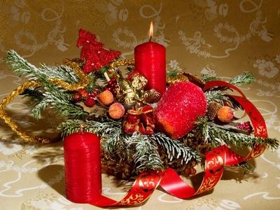 новогоднее оформление на новый год