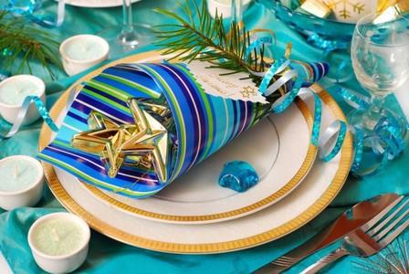 новогоднее оформление свадьбы