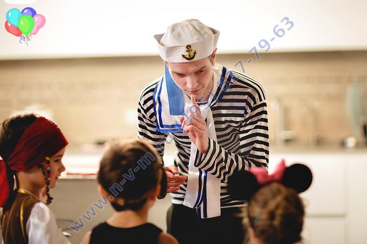 аниматор морячок