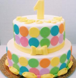 большой торт на год