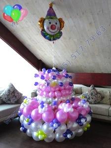 торт из шариков