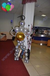 рыцарь из шариков