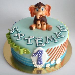 торт со слоненком