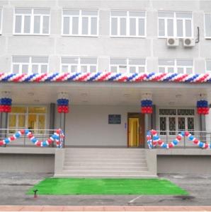 оформление школы на 1 сентября