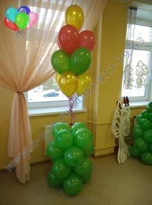 стойка из шаров