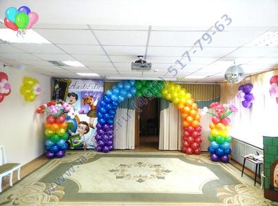 шары на выпускной в детский сад