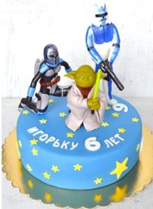 торт звездные воины