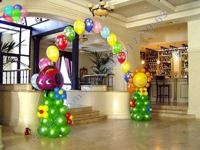 детская арка из шаров