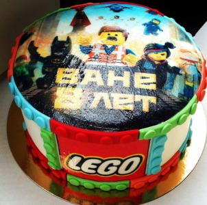 лего торт