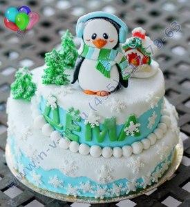 заказной торт на новый год