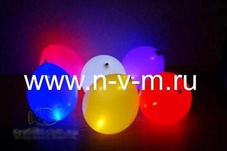 Светящиеся шары с  воздухом